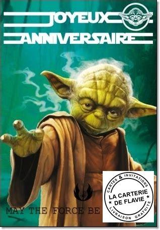 Carte anniversaire virtuelle gratuite en espagnol. carte anniversaire Star Wars - livraison gratuite