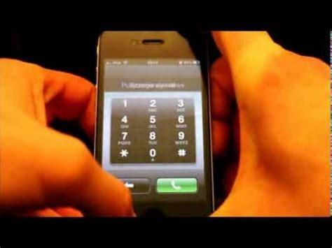 unlock iphone 4 without passcode iphone 4 ios 6 1 odblokowanie bez hasła unlock without