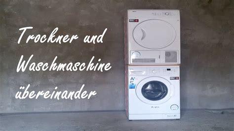 trockner und waschmaschine übereinander stellen trockner und waschmaschine 252 bereinander