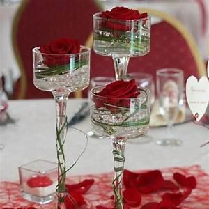 Décoration Mariage Rouge Et Blanc : deco mariage rouge et blanc pas cher mariage toulouse ~ Melissatoandfro.com Idées de Décoration