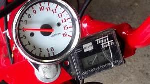 Cheap Ebay Tachometer - 16 000 Rpm Tacho  U0026 Tiny Tach - Scooter Mini Bike