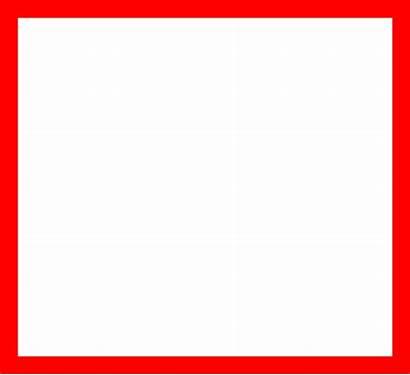 Square Border Vector Clip Clipart Simple Outline