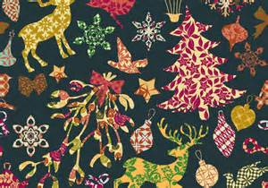Types Of Christmas Trees by Seamless Patchwork Christmas Pattern Vector Download