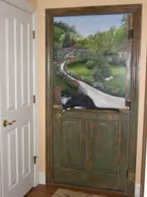 Painted Door Murals