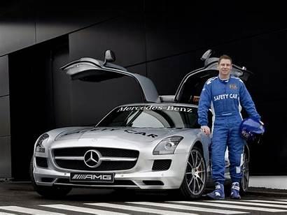 Mercedes F1 Amg Benz Sls Safety Desktop