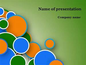 Powerpoint Theme Templates Download Free Funny Bubbles Powerpoint Template For