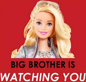 Big Barbie Is Watching You: Meet The WiFi-Connected Doll ...  Barbie
