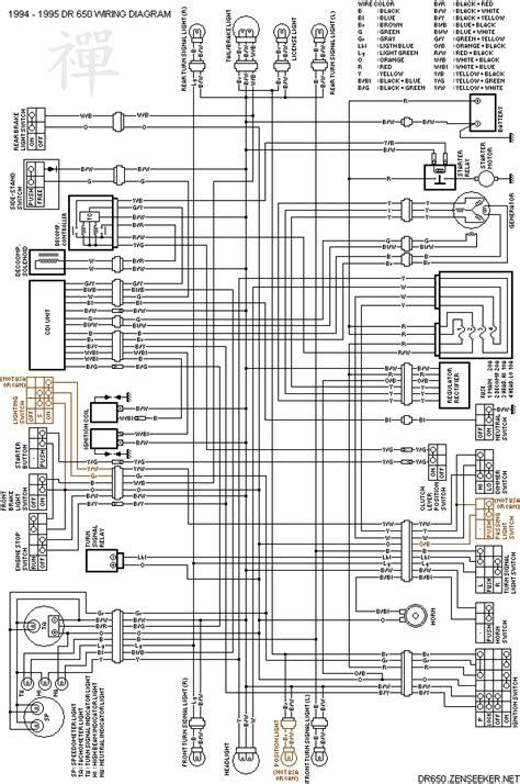 Yamaha V 650 Wiring Diagram Tach by Suzuki Dr650 Vonkt Niet Hoe Wordt De Cdi Aangestuurd