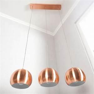Pendelleuchte Kugel Kupfer : 3er set design h ngelampe globus kupfer portofrei kaufen ~ A.2002-acura-tl-radio.info Haus und Dekorationen