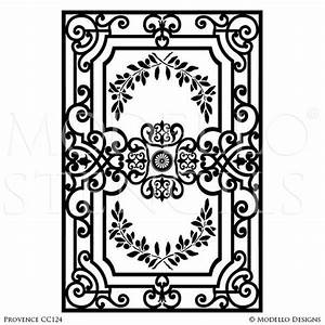 Carpet ceiling panel stencils modellor designs for Drawing of carpet design