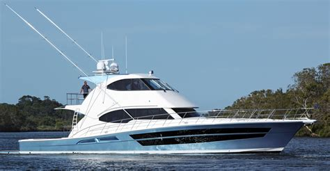 Boat Brokers Kent Island by 2018 Riviera 77 Enclosed Flybridge Power Boat For Sale
