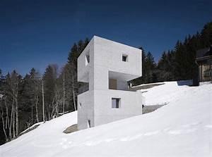 Tiny House österreich : marte marte architekten create concrete mountain cabin ~ Frokenaadalensverden.com Haus und Dekorationen