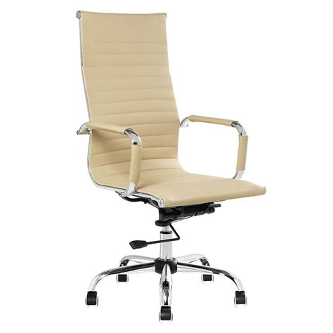 Cadeira de Escritório Presidente Charles Eames Bege