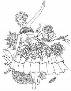 Ballerina Swan Dance coloring page | Free Printable ...
