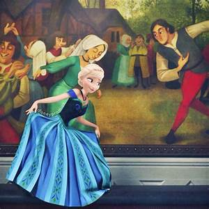 Elsa and Anna For the first time in forever I won't be alone
