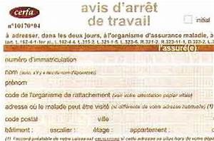 Sortie Autorisée Arret Maladie : arr t maladie d couvrir ~ Medecine-chirurgie-esthetiques.com Avis de Voitures