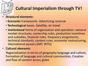 Media globalisation and cultural imperialism