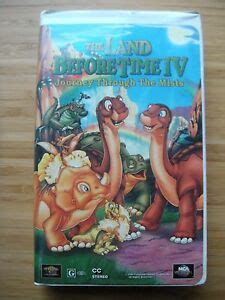 the land before time iv journey through the mists vhs 1996 clamshell