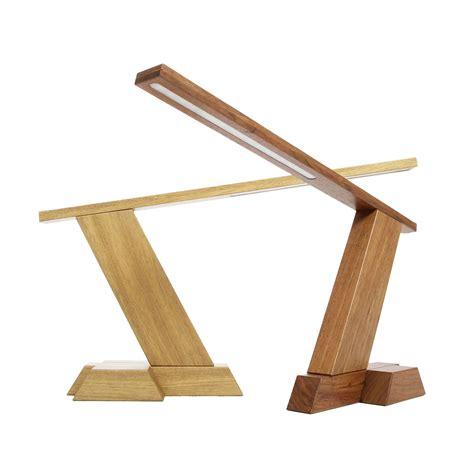 wooled solid wood diy led desk lamp wooden lamps wood