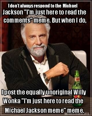Photo Comments Meme - i just came here for the comments meme