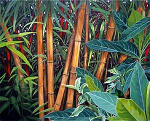 Bold Botanical Acrylic Painting: Painting of Tropical ...