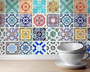 Fliesen Für Die Küche : portugiesische fliesen muster 48 fliesen decals fliesen sticker fliesen f r die k che ~ Orissabook.com Haus und Dekorationen