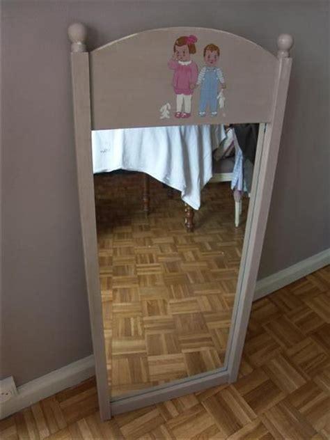 miroir pour chambre miroir chambre enfant hauteur 1m40 70 euros photo de