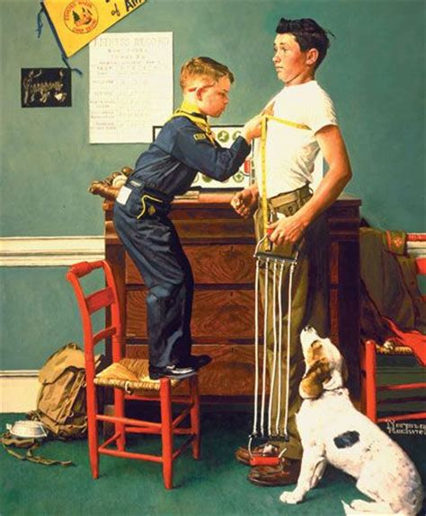 704 Best Images About Norman Rockwell On Pinterest