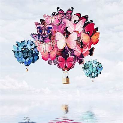 Luisa Surreal Azevedo Balloon Air Behance Surrealism