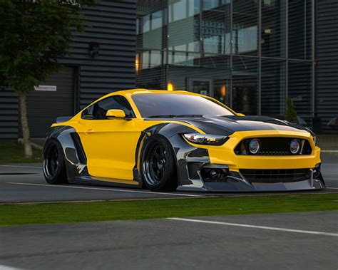 S550abs Clinched Flares  Widebody Kit Ford Mustang S550