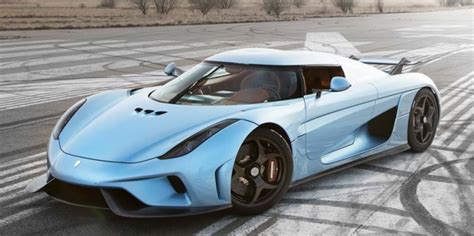 The Koenigsegg Regera Can Smoke Its Tires At 186 Mph