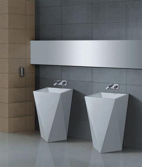 modern pedestal sink maccione ii modern pedestal sink