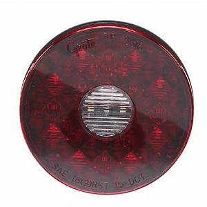 4 U0026quot  Round Led Stop Tail Turn Light With Integrated Reverse
