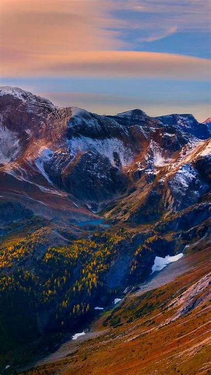 Scenery Mountain Sky Peaks Iphone Background 6s
