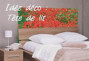 Idee Deco Tete De Lit : t te de lit id e d co originale en papier peint et claustra ~ Melissatoandfro.com Idées de Décoration