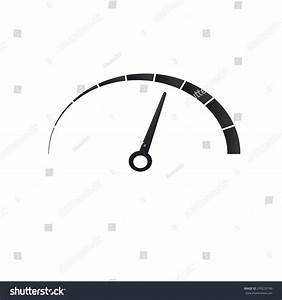 Car Speedometer Vector Icon Stock Vector 239220190 ...