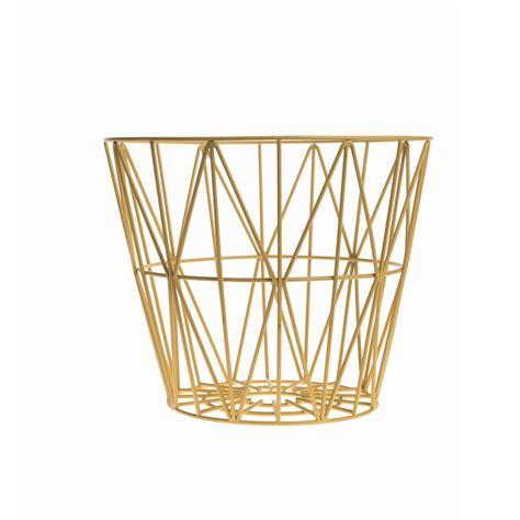 Wire Basket Ferm Living by Ferm Living Wire Basket Medium Tr 229 Dkurv Fra Ferm Living