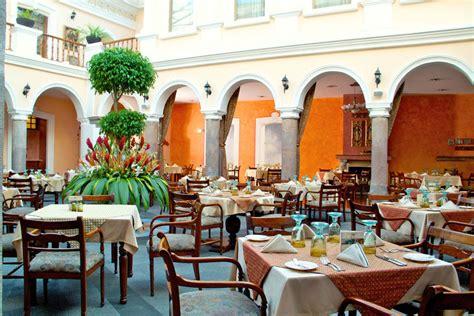 patio andaluz quito ecuador south america the