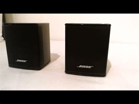 bose virtually invisible 300 ständer bose virtually invisible 300 speakers unboxing set up preparation