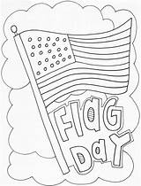 Coloring Pages Flag Congress American sketch template