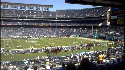 san diego chargers qualcomm stadium san diego chargers