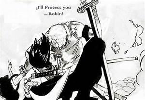 """I'll protect you Robin""~ Zoro | Roronoa Zoro and Nico ..."