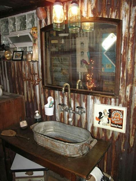 man cave bathroom sink caves rustic bathrooms and lakes on pinterest