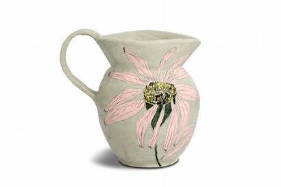 Jug Jugs Flower Ceramic Ceramics Pottery Designs