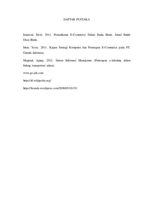 Peranan sistem informasi manajemen pada Gojek