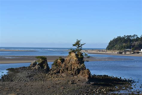 Filesiletz Bay (lincoln City, Oregon)jpg  Wikimedia Commons