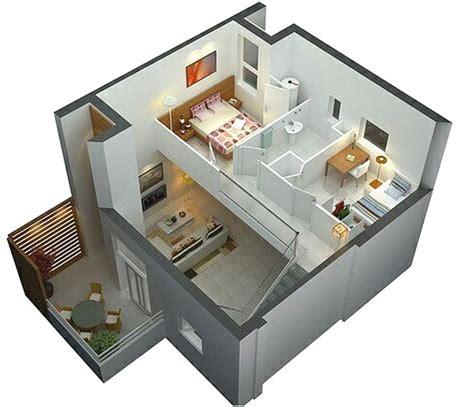 desain rumah minimalis  lantai  lahan  terbatas