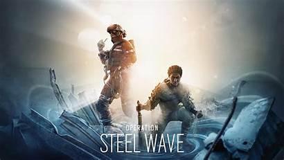 Siege Rainbow Six Wave Steel Operation Operators