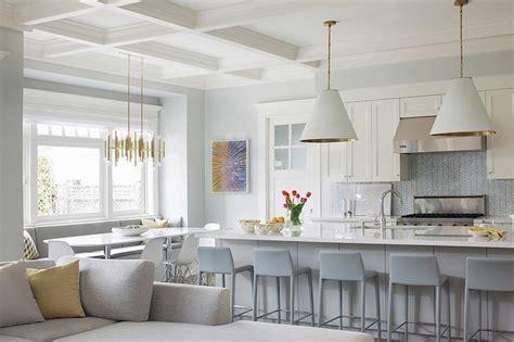 kitchen with white backsplash gray chevron backsplash contemporary kitchen terris 6560