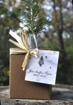 plant  memorial tree plant  memory favors gifts